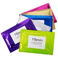 Fibroin İpek Ultra Sıkılaştırıcı Maske Su Nemlendirici Nemlendirici Yağ Kontrolü Kollajen Yüz Maskesi Biyolojik Kozmetik Yüz Maskeleri