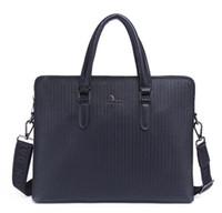 الجملة 2018 حقيبة الرجل الجديد منقوش رجال الأعمال حقيبة يد عارضة الكتف قطري حقيبة حقيبة شحن مجاني