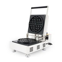 Livsmedelsbearbetning Högkvalitativ 110V 220V Kommersiell Bubbla Waffle Maker Baker Machine
