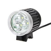 8000Lm 3X XM-L T6 LED Wasserdichte Scheinwerfer Scheinwerfer Vorne Fahrradlampe AC ladegerät EU Stecker Fahrradbeleuchtung Set