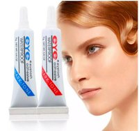 120 Unids Eye Lash Glue Negro Blanco Maquillaje Eye Lash Adhesivo Impermeable Pestañas Postizas Adhesivos Pegamento Blanco Y Negro Disponible 7g DHL Gratis