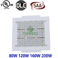 La station-service d'UL de la CE a mené la lumière d'auvent 100W 150W 200W 250W 100-277V le parking LED allume l'éclairage extérieur de modification pour le projecteur 888 de lampe