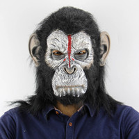 2018 Zombie Mask Orangutan Halloween Christmas Atmosphere Ho...