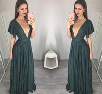 Charming Sexy Prom Dress Chiffon Long Evening Dress Special ...