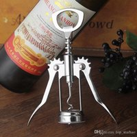 Stainless Steel Wine Bottle Opener Handle Pressure Corkscrew...