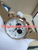 Wholesale watch Fashion men' s watch rose gold case brow...