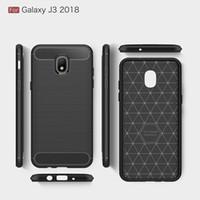 CellPhone Custodie per Galaxy J6 2018 J4 J3 J7 2018 backcover Custodia in fibra per J4 plus J6 Plus 2018 copertura DHL spedizione gratuita