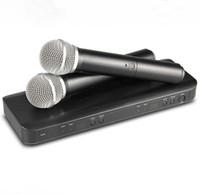 Professionele BLX288 UHF Draadloze Microfoon Karaoke System Dubbele Handheld Zender Microfoon voor Stage DJ KTV