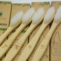 Disposable ToothBrush OEM Customized Logo Bamboo 5in1 Toothb...