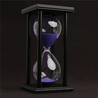 60 minuti di sabbia orologio clessidra conto alla rovescia timer moderna in legno sandglass decorazione della casa regali di arti e mestieri