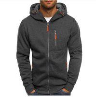 Hoodies Men Fashion Hoodies Brand Men Personality Zipper Sweatshirt Male Hoody Tracksuit Hip Hop Autumn Winter Hoodie Mens