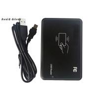 125KHz로 RFID ID 카드 리더 작가 복사기 Duplicater에 대한 액세스 제어 + 5 PCS T5557 태그 + 무료 데모 Nodriver 소프트웨어