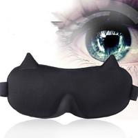 Máscaras para dormir transpirables ultra suaves 3D de alta calidad Máscara para los ojos de dormir Sombra de viaje portátil Reposo para dormir Ayuda para el descanso Máscara para el ojo
