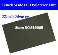 Новый 32-дюймовый 32 дюймовый 0 градусов Глянцевая 709MM * 405мм ЖК-поляризатор Поляризационные пленка для LCD LED IPS экран для ТВ