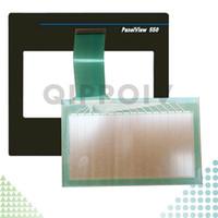 PanelView 550 2711-T5A1L1 2711-T5A3L1 2711-T5A5L1 2711-T5A8L1 Neue HMI-SPS Touchscreen-Panel und Front-Etikett