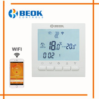 Sala programable Caldera de calefacción Termóstato WIFI Controles de temperatura digital Regulador Termóstato de control Wifi para calderas de gas