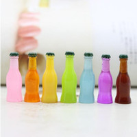 Resina alimento juguetes novedad artículos collar colgante accesorios coque botellas de célula de bricolaje cáscara de cáscara de belleza Material de belleza Adorno de uñas