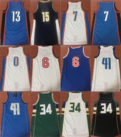 Paul George 13 basketball jerseys Carmelo Anthony 7 Russell ...