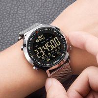 8302 실외 방수 수영 스포츠 Smartwatch를 SYNOKE 남성 디지털 스마트 시계 Passometer 메시지 알림 매우 긴 대기 Xwatch