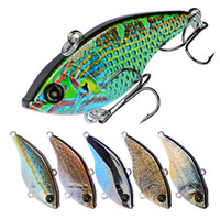 New Bionic VIB Lipless Fishing lure 5.4cm 14g Shallow Diving Realistico artificiale piccolo pesce esca dura laser