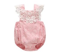 baby kleidung sommer baby kinder aushöhlen spitze floral strampler säugling kinder baumwolle sommer baby strampler mädchen kleidung