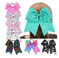 Unicorn Girls Elastic Hair Bands Fiore Bowknot Party Headwrap Ragazze Donne Corda Love Heart Lovely Headwear Capelli Bow Accessori Regali