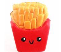 Crecimiento lento Squishies Alta calidad Kawaii Papas fritas Jumbo lindas Pan perfumado Squishy juguete muñeca descompresión nuevos productos