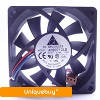 7cm AFB0712LB 12V Ball bearing 3wire Cooling fan for Delta 0...