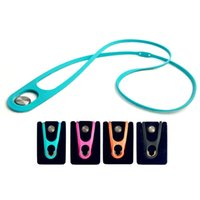 2018 New Roated Mobile Phone Lanyard Silicone Neck Strap for...