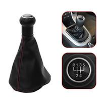 5 vitesses manuels manuels shift shifter knob de shifter gaster boot ajustement vw golf 3 mk3 vento 92-98