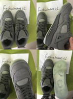 2018 KAWS 4 Cool Grey Glow In the Dark Mens Basketball Shoes...