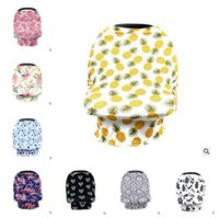 Pineapple Feeding Nursing Cover Baby Car Seat Cover 12 Style...