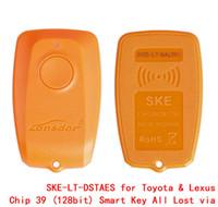 SKE LT DSTAES pour Toyota pour la puce Lexus 39 Emulateur de clé intelligente 128 bits, tous perdus via OBD