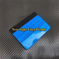 Felt Squeegee For Vinyl Film Flexible Squeegee With Felt Car Vinyl Film Wrap Tool