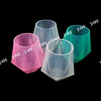 unbreakable silicone Wine Glasses Food Grade Clear Silicone ...