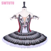 rose red Spanish classical ballet tutus professional ballet ...