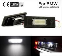 2pcs di alta qualità Direct Fit BMW 24-SMD LED Light Lights Lights E63 E64 E81 E85 E87 650i M6 Z4 Errore gratuito
