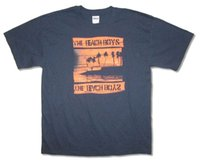 The Beach Boys Night Beach Primm Navy Blue T Shirt New Offic...