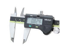 الفرجار رنيه الرقمية ميتوتويو الرقمية الفرجار اختبار 0-150 0-200 0-300 0.01MM الفرجار Digimatic شحن مجاني