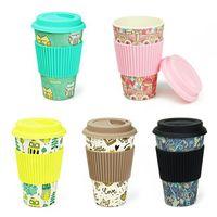 Новинка бамбуковое волокно порошок кружки кофейные чашки Молоко питьевая чашка путешествия подарок Эко дружественных SN483