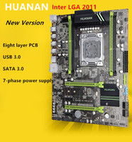 HUANAN altın V2.49 X79 anakart LGA2011 ATX USB3.0 SATA3 PCI-E NVME M.2 SSD portu Destek REG ECC bellek ve Xeon E5 işlemci
