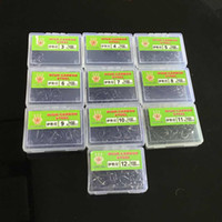 1000pcs 10box 3- 12# Ise Hook High Carbon Steel Without Hole ...