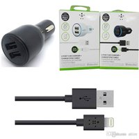 Dual USB Car Charger Adapter with cable 2 Port Car Charger F...