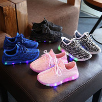Spring Autumn Children Light Shoes Sport Shoes Baby Led Lumi...