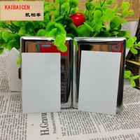 Sublimation Metal Blank Zigarettenetui DIY Transferdruck Blank Plain Zigarettenhülle Material