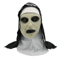 2018 2 Style High Qualtity Latex Mask Halloween The Nun Horr...
