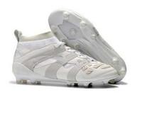 cheap for discount 0afe4 eee2c 2018 tênis de futebol para homens sapatos de futebol indoor Crampons de  futebol botas predador mania