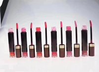6 colores Tom Cosmetics Marca Ford Liquid Lipstick Mate Lip Gloss Rouge a Levre Nutritious Lipgloss