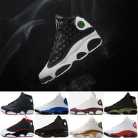 New 13s 13 XIII men basketball shoes Low Chutney Navy blue P...