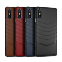 New luxury ledertasche für iphone xr xs max x 6s 7 8 plus handy case business für samsung galaxy s8 s9 s10 plus note 8 9 schlanke abdeckung